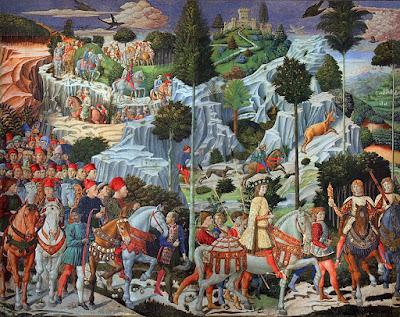 Cappella Magi Benozzo Gozzoli