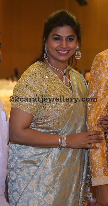 Pinky Reddy at Anirudh Reddy Wedding