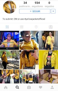 Chaqueta amarilla instagram My ModS.O.S