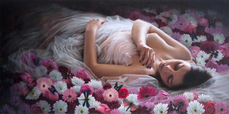Pintura de Tina Spratt