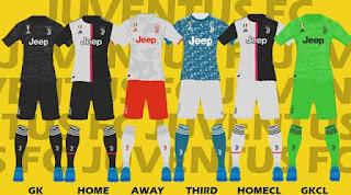 PES 2017 Juventus Kits 2019-2020