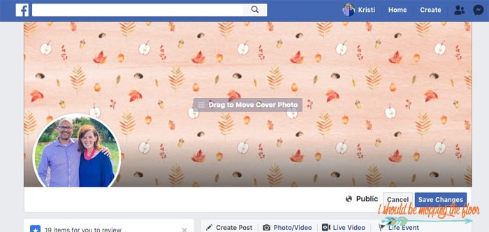 Changing Your Facebook Cover