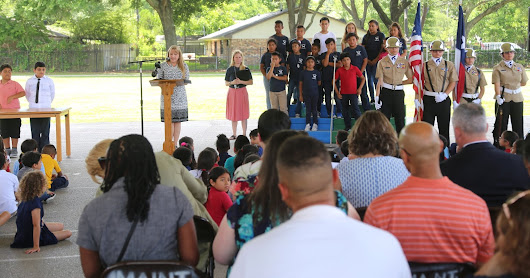 Celebrating Woodview Elementary's SPARK Park