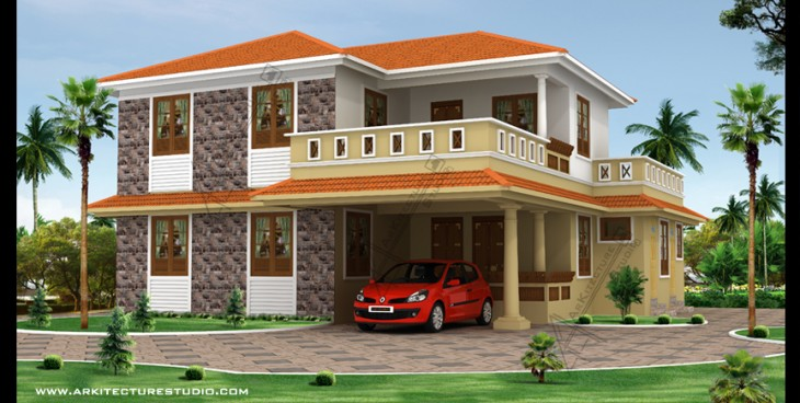 South indian house design archives for South indian house designs