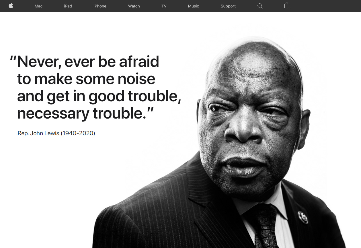 Never, ever be afraid to make some noise and get in good trouble
