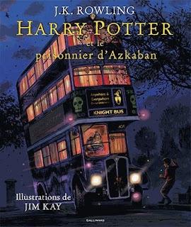 Harry Potter et le prisonnier d'Azkaban illustré de J.K Rowling et Jim Kay