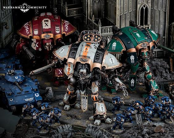 Ejércitos de Renombre Freeblade Imperial Knights