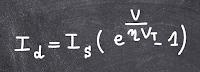 modele mathematique de la diode
