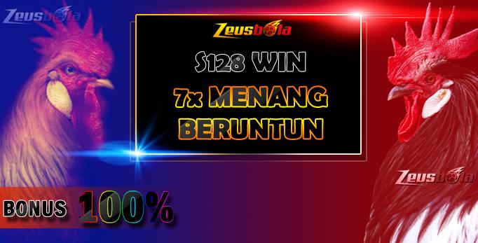 Daftar S128 Sabung Ayam Bonus Win Beruntun / Win Berturut-turut Bonus Hingga 5 Juta