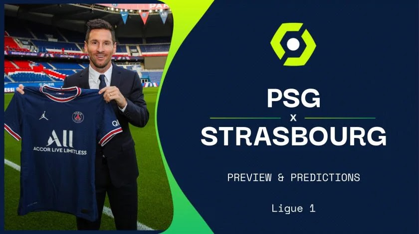 PSG vs Strasbourg Football Preview and Predictions 2021