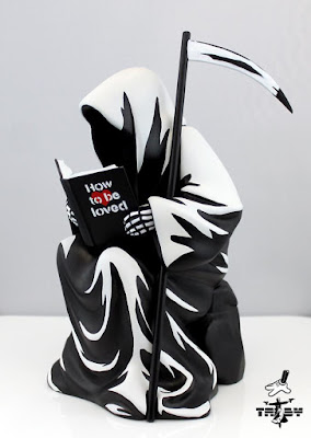 How To Be Loved Fine Art Sculpture by TABBY x Silent Stage Gallery