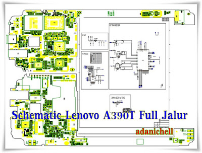 Schematic Lenovo A390T Full Jalur