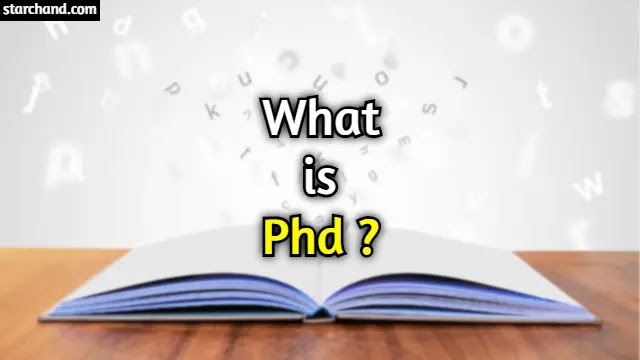 What is PhD?