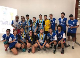 Equipes do CES conquistam títulos nos V Jogos das Residências Universitárias da UFCG