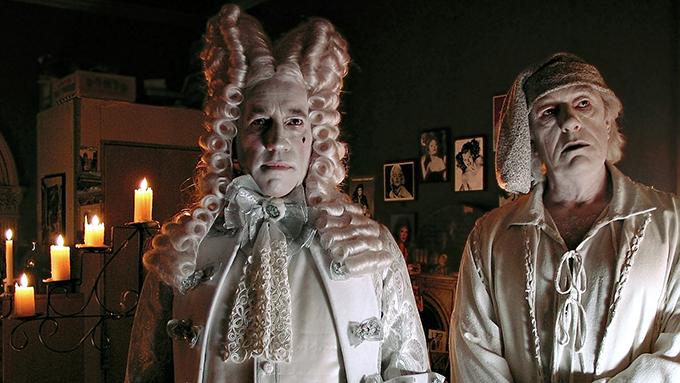 Simon Callow y Michael Gambon en Angels in America