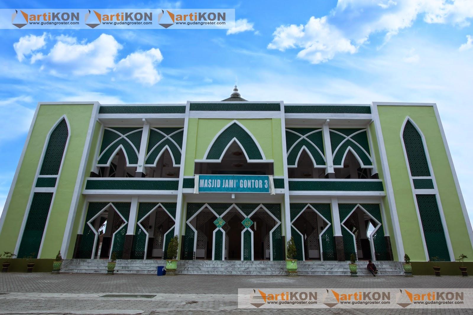 GRC ARTIKON Kerja Sama Pembangunan Masjid Jami Gontor 3