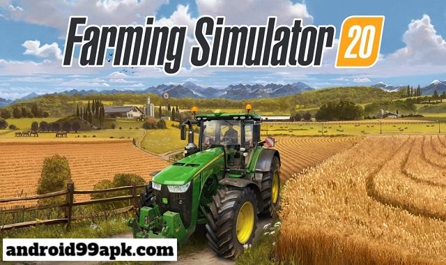 لعبة Farming Simulator 20 مدفوعة كاملة بحجم 469 MB للأندرويد