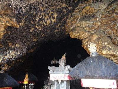 Goa Lawah Temple, Tempat Wisata di Bali yang Lagi Nge-Hits Berkat Kelelawar