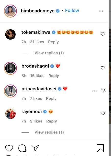 Celebrities React As Actress Bimbo Ademoye Pens Down Emotional Message For Son