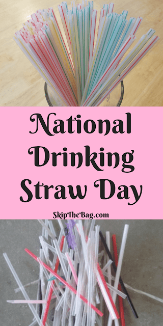 National Drinking Straw Day | Not all straws are plastic. Find out about some more sustainable alternatives.