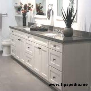 bathroom vanity countertop cabinet