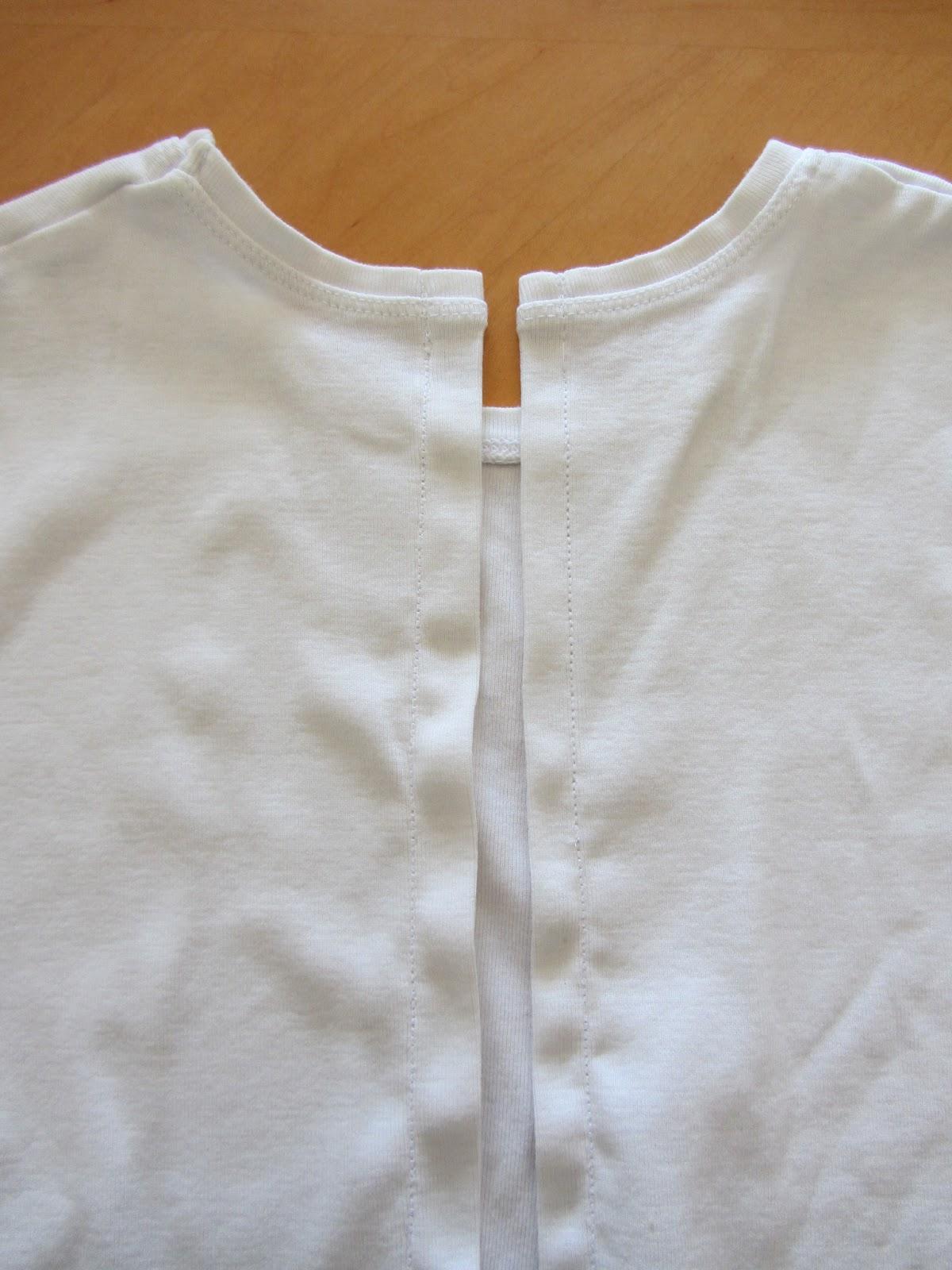 Refashion Co-op: Spring t-shirt refashion #2 - bows