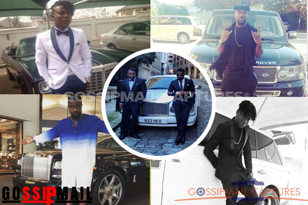 Money talks! Here are the luxury cars Sarkodie and Stonebwoy drive (Photos)