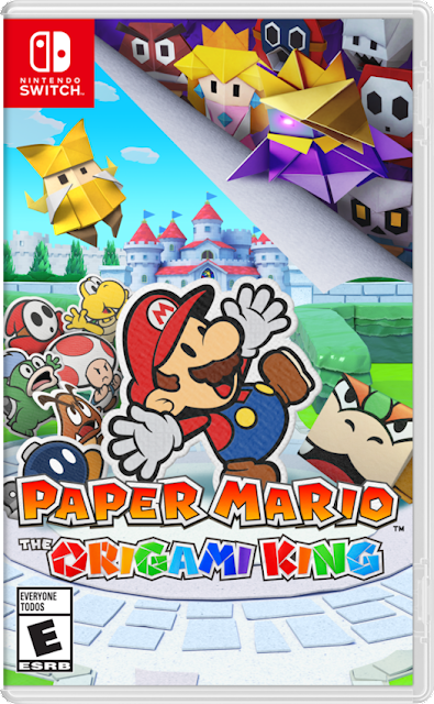 Paper Mario: The Origami King Coming on July 17th for Nintendo Switch