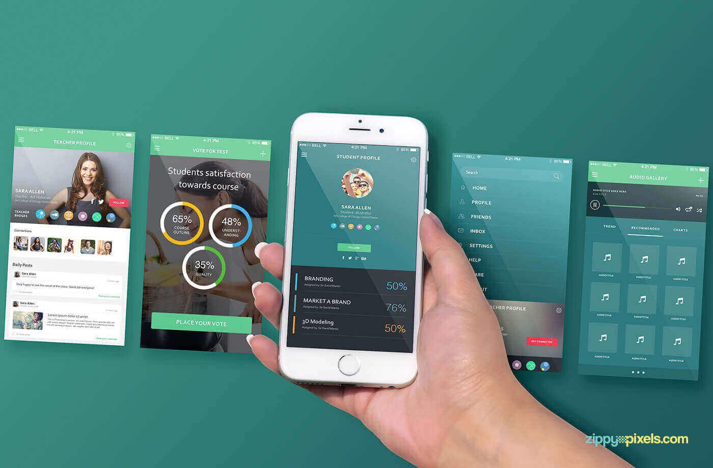 Mockup iPhone 6S