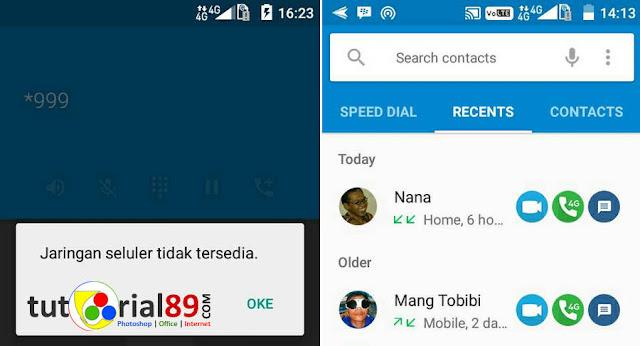 Cara mengatasi tidak bisa sms dan telepon di andromax