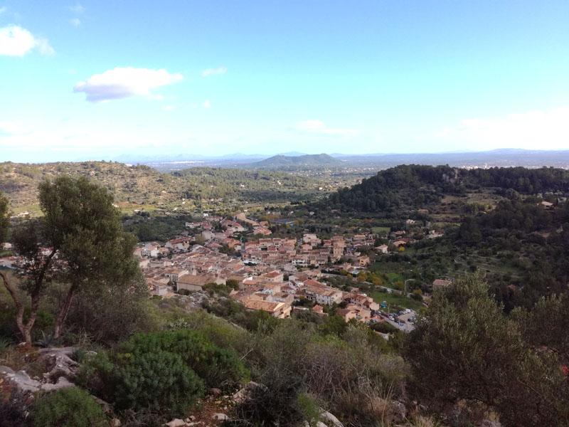Foto: Manacor de la Vall visto dall'oratorio di Santa Lucia