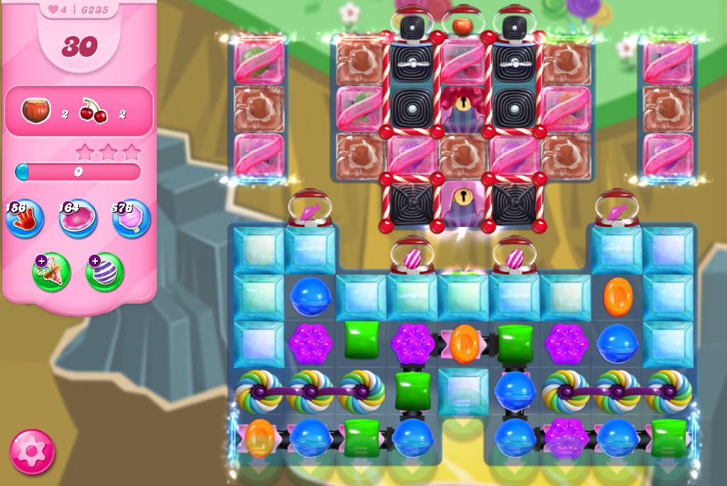 Candy Crush Saga level 6235