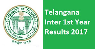 Telangana Inter 1st Year Results 2017