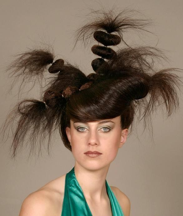 Fenryss Funny Hairstyle Of Girls