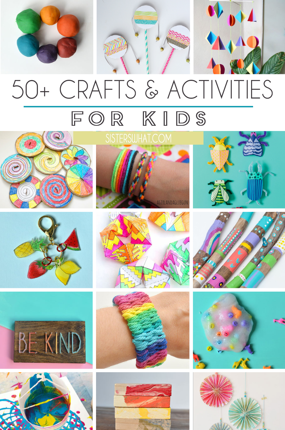 kids creative activities and crafts to do at home