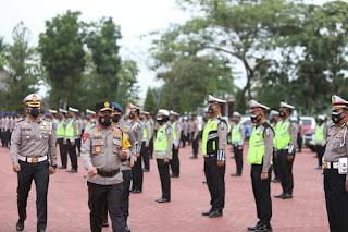 Kapolda Sumut Pimpin Apel Gelar Pasukan Operasi Keselamatan Toba 2021, Terhitung Mulai Hari Ini Sampai 14 April 2021