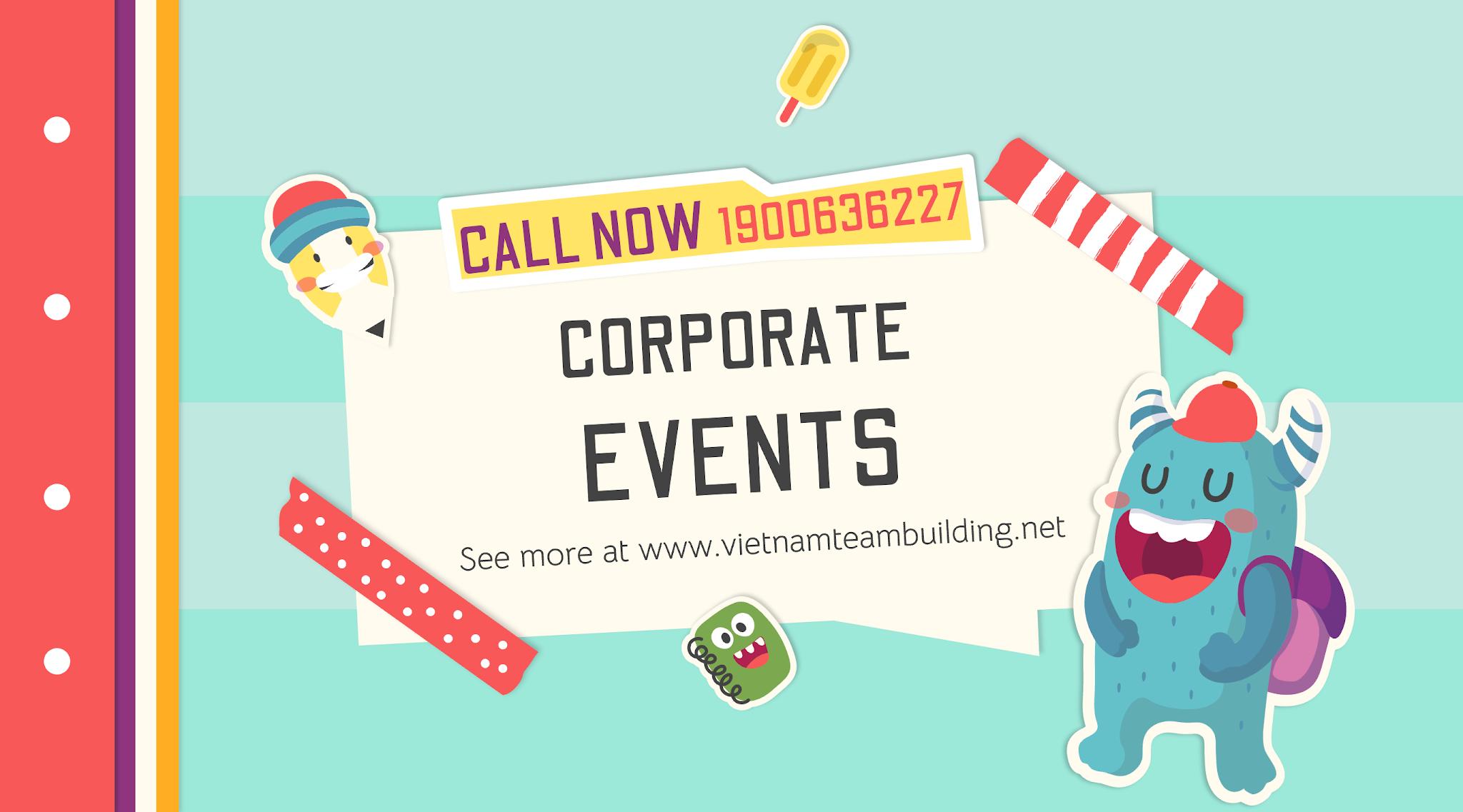 Tổ chức team building cho doanh nghiệp, Vietnamteambuilding
