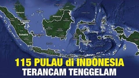 115 Pulau Di Indonesia Terancam Tenggelam, Termasuk Pulau Nias