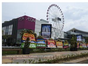 Opening AEON MALL di Jakarta Garden City