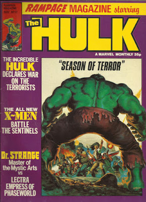 Rampage Magazine #17, the Hulk