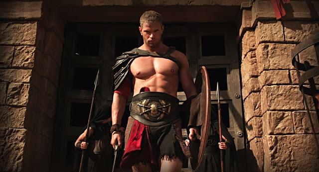Kelan Luts în rolul semizeului din filmul Hercules: The Legend Begins