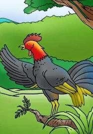 Dongeng Ayam Jantan yang Cerdik dan Rubah yang Licik (Aesop) | DONGENG ANAK DUNIA