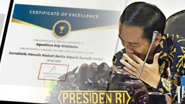 Sertifikat Prakerja Jokowi Tidak Berguna di Dunia Industri