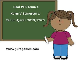 Berikut ini adalah contoh latihan Soal PTS  Soal PTS / UTS Tema 1 Kelas 5 Semester 1 K13 Tahun 2019/2020