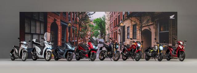 Το Vision 110 του 2021 διευρύνει τη γκάμα scooter και μοτοσυκλετών Honda 125 κ.εκ. για κατόχους διπλώματος Α1