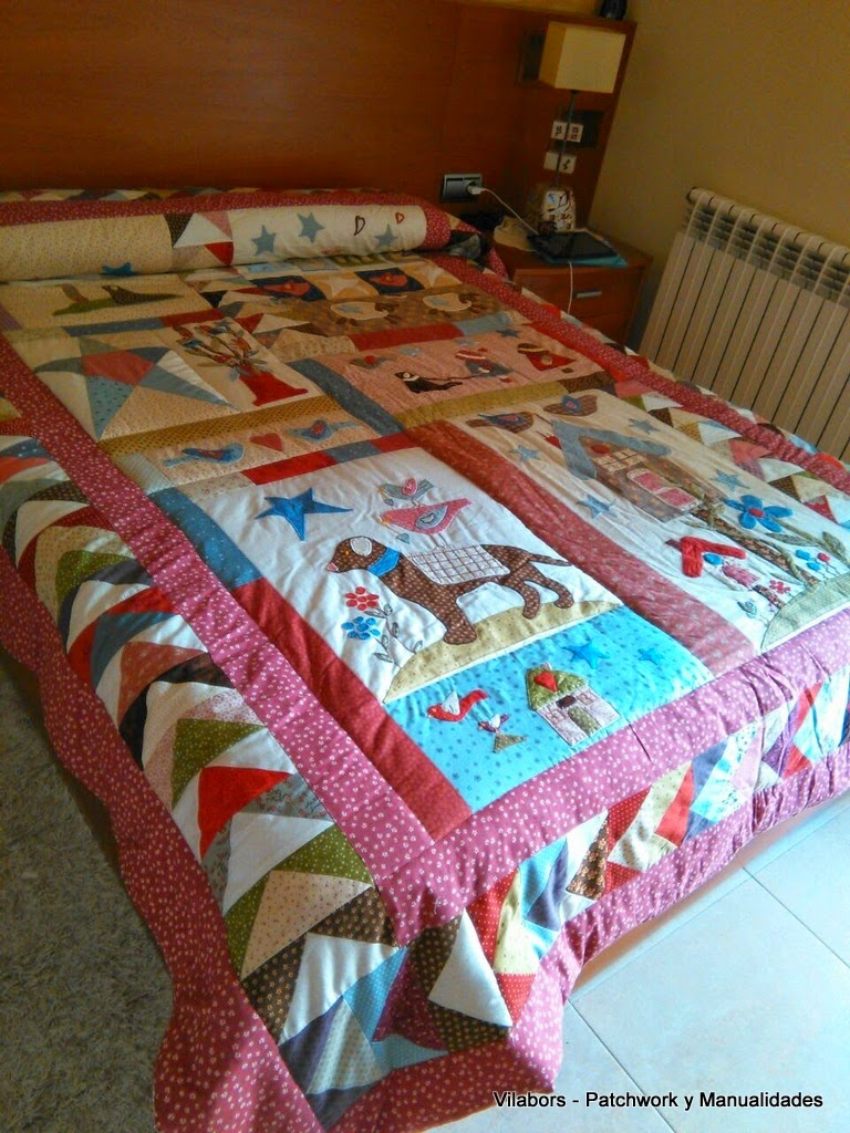 Colcha Veronique Requena - Patchwork Vilabors