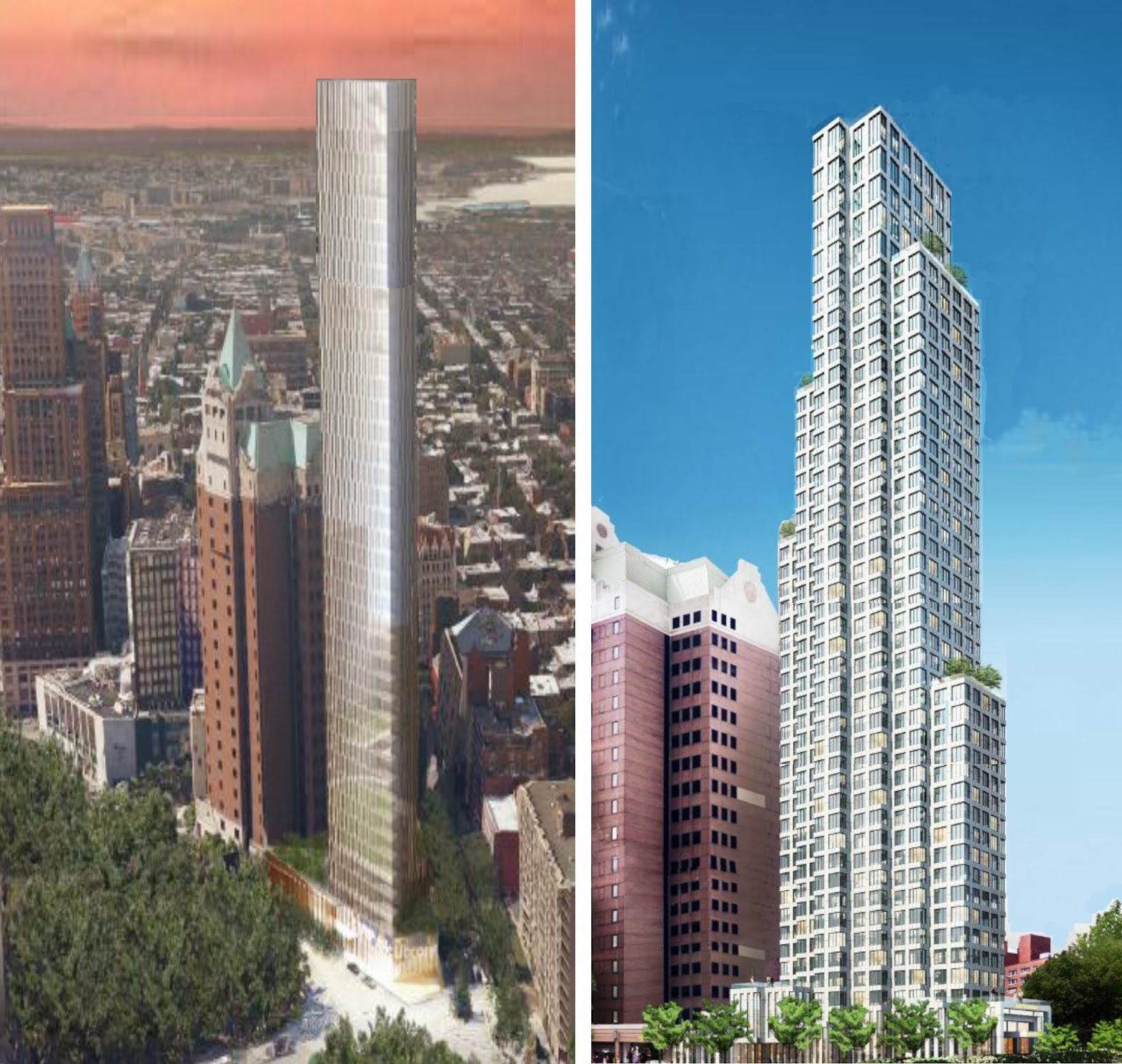 Nyc New York: Noticing New York: Tall Stories- Buildings Proposed To