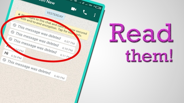 How to Recover Delete Message in Whatsapp