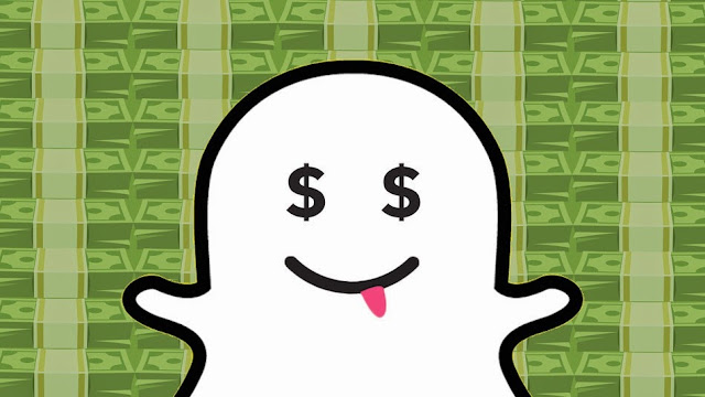 Send money with Snapchat!