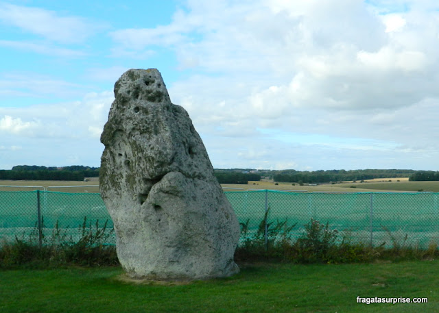 Pedra do Sol, Sítio Arqueológico de Stonehenge, Inglaterra